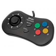 —PO— NEO GEO Wired Controller Pad (Black) (Sept 24, 2018)