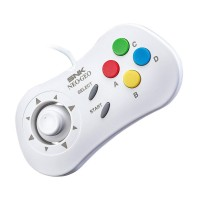 NEO GEO Wired Controller Pad (White)