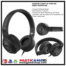 Monster Headset Wired Clarity 50