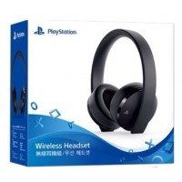 New Playstation Gold Wireless Headset (BLACK) DOLBY 7.1 V2 (Warranty)