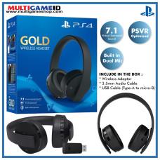 Playstation GOLD 7.1 Wireless Headset (BLACK)