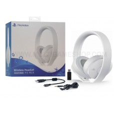 New Playstation Gold Wireless Headset (White) DOLBY 7.1 V2 (Warranty)