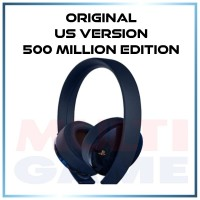 Playstation GOLD 7.1 Wireless Headset LIMITED 500 Million (US Version)