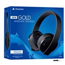 —PO— New Playstation GOLD V2 Wireless Headset (White) DOLBY 7.1 (Warranty)