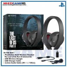 New Gold 7.1 Playstation Gold Wireless Headset The Last of Us Part II Limited Edition