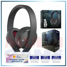 (Official) New Gold 7.1 Playstation Gold Wireless Headset The Last of Us Part2 Limited Edition