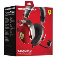 Thrustmaster Headset T-Racing Scuderia Ferrari Edition Wired