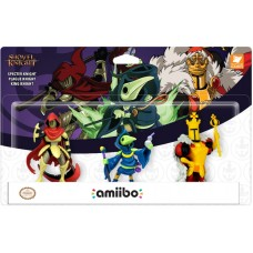 —PO/DP— Amiibo Shovel Knight 3Pack Specter/Plague/King