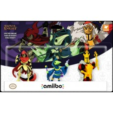 Amiibo Shovel Knight 3Pack Specter/Plague/King