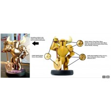 —PO/DP— Amiibo Shovel Knight Gold Edition