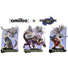 Amiibo Magnamalo+ Palamunte+ Palico (3 pcs Amiibo)