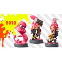 Amiibo Splatoon2 Octoling Collection 3Character