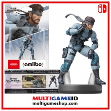 SNAKE Amiibo Super Smash Bros Series