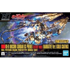 HG 216 RX-0 UNICORN GUNDAM 03 PHENEX GOLD COATING 55342-3