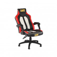 Brazen Stealth 2.0 Surround Sound Bluetooth PC Gaming Chair (Black/White/Red)