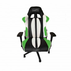 Brazen Sultan Elite PC Gaming Chair (Black/White/Green)