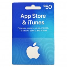 ITunes USD 50,- (Ready)