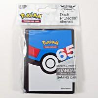 Pokemon Card Sleeve 65 Greatball (66mmx91mm)