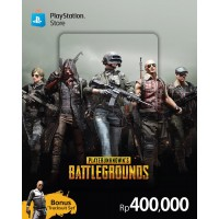 "PSN Rp.400.000,- R3 Asia ""PUBG"" Bonus Tracksuit Set (Physical Card)"