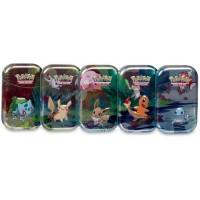 Pokemon Cards Kanto Power Mini (1 Tin Box)