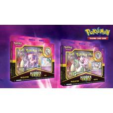 Pokemon TCG Hidden Fates Pin Collection Mew/Mewtwo