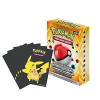 Pokemon TCG Indonesia Bayangan Tersembunyi  Starter Deck GX AS3Di (60 cards) +Bonus Sleeves Pikachu