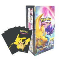 Pokemon TCG Indonesia Bayangan Tersembunyi Booster Box AS3b +Bonus Sleeves Pikachu