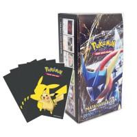 Pokemon TCG Indonesia Bayangan Tersembunyi Booster Pack AS3a 1BOX +Bonus Sleeves Pikachu