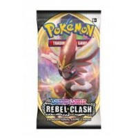 Pokemon TCG SS2 Rebel Clash Booster Pack (10 Card)