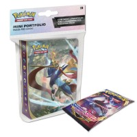 Pokemon TCG SS1 Pokemon Sword & Shield Mini Portfolio + Booster Pack