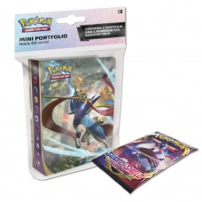 Pokemon TCG SS1 Pokemon Sword & Shield Mini Portfolio + Booster Pack