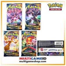 Pokemon TCG SS3 Darkness Ablaze Booster Pack (10 Card)