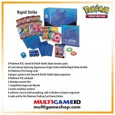 Pokemon TCG SS5 Battle Style Elite Trainer Box Rapid Strike (Blue)