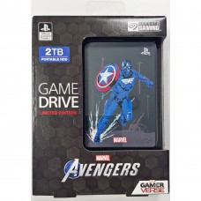 HDD Seagate 2TB Game Drive For PS4 Avengers Limited Edition (Captain Amerika)