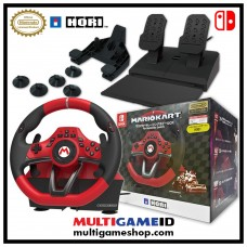 "Switch Mario Kart ""Premium"" Steering Wheel and Pedal (HORI)"
