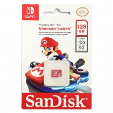 Memory Micro SanDisk 128GB Official For Nintendo Switch