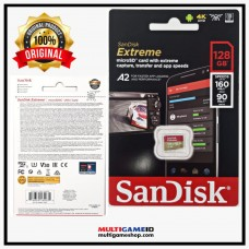 Memory Micro XC-I SanDisk A2 V30 Extreme128GB (Speed Read 160MB, Write 90MB)