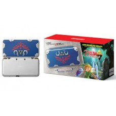 New 2DS-XL Hylian Shield Edition PreInstalled Zelda a Link Between Worlds