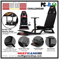 Next Level Racing Challenger +Steering Stand +Gearshift Holder +Monitor Stand (2Box Bundle)