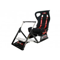 Next Level Racing GT Ultimate Racing Simulator V2 Seat + Steering Wheel Stand + Gearshift Holder Bundle
