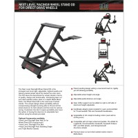 New!! Pagnian Next Level Racing Wheel Stand DD Adjustable