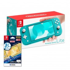 Nintendo Switch Lite Turquoise +Screen Guard 9H HORI