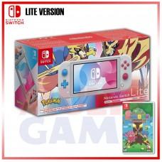 Nintendo Switch Lite Zacian&Zamazenta Pokemon Sword&Shield Edition +Soldam