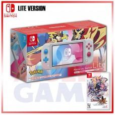 Nintendo Switch Lite Zacian&Zamazenta Sword&Shield Edition +Disgaea 4