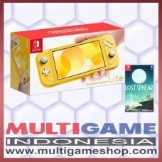 Nintendo Switch Lite Yellow +Game Lost Sphear