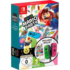 —PO/DP— Super Mario Party + Joycon Green/Yellow (Nov 16, 2018)