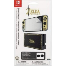 Zelda Sticker Skin + Screen Protection + Thumb Grip Package