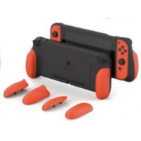 Switch Skull&Co MaxCarry Grip Case Mario Red