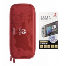 Switch Carrying Case Mario Odyssey (Original) +Tempered Glass 9H (Bag)