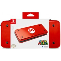 Switch Aluminium Case Red Super Mario (HORI)